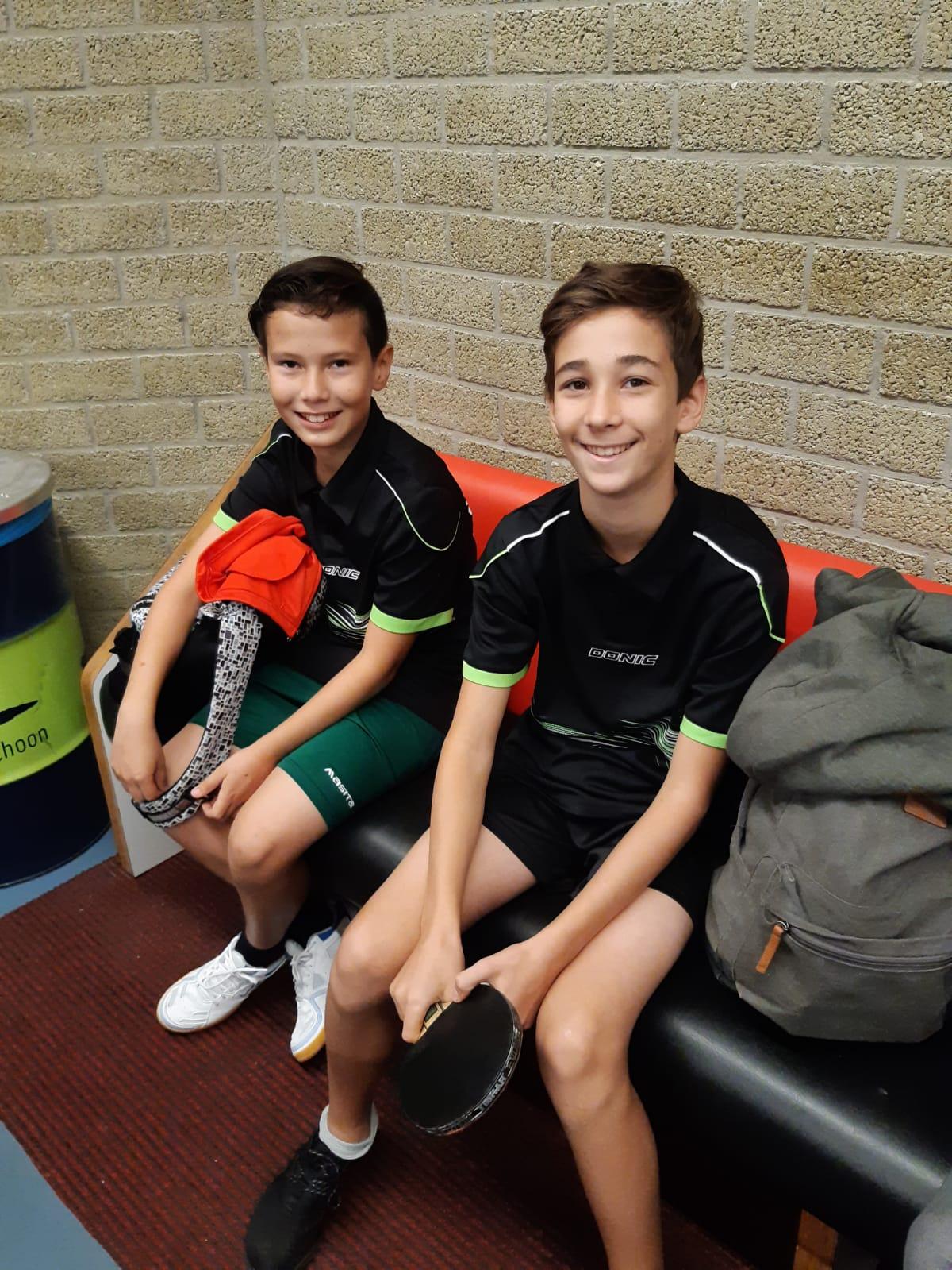 29-9 NJM: Jadin en Olivier naar de finales