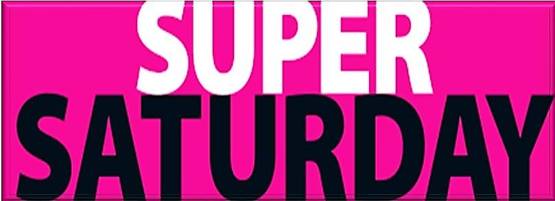 Super Saturday op 21 september